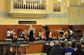 Performing with TrinityGold Cello Ensemble in Goldsmiths University, London.