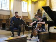 Recital in The Old Royal Naval College Chapel, Greenwich with The Bedriska Trio