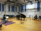 Recording Smetena's Trio in G minor at Surrey University Studios with The Bedriska Trio
