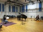 Recording Smetena's Trio in G minor at Surrey University Studios with The Bedriska Trio