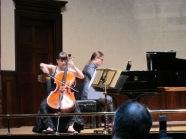 Perormance with Duo partner, pianist Panaretos Kyriatzidis